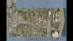 Detailed Map and Radar Mod para GTA San Andreas