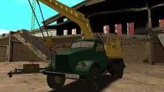 Guindaste móvel de GAZ-51