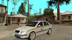 Polícia de trânsito ucraniano Skoda Octavia II