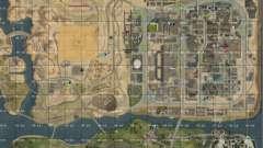 Mapa de San Andreas com atualização v7
