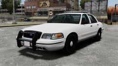 Ford Crown Victoria Unmarked ELS para GTA 4
