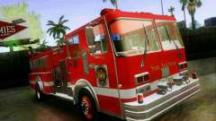Pumper Firetruck Los Angeles Fire Dept para GTA San Andreas