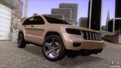 Jeep Grand Cherokee 2012 para GTA San Andreas