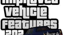 Improved Vehicle Features v2.0.2 (IVF) para GTA San Andreas