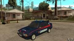 Alfa Romeo 75 Carabinieri para GTA San Andreas