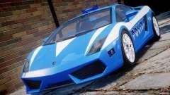 Lamborghini Gallardo LP560-4 Polizia para GTA 4