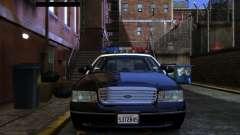 Ford Crown Victoria LAPD v1.1 [ELS] para GTA 4