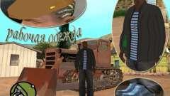 Vestuário de Pak de trabalho para GTA San Andreas