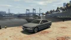 BMW 740i E38 para GTA 4