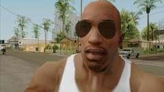 Óculos marrom aviadores para GTA San Andreas