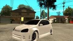 VW Golf 5 GTI Tuning para GTA San Andreas