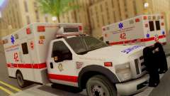Ford F350 Super Duty Chicago Fire Department EMS