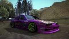 Nissan Silvia S13 Team Burst