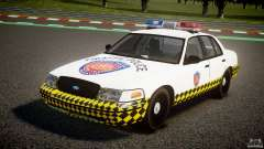 Ford Crown Victoria Karachi Traffic Police para GTA 4