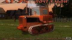 Tractor DT-75 carteiro