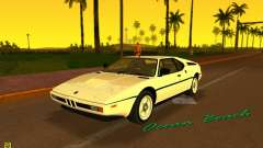 BMW M1 (E26) 1979 para GTA Vice City