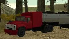 ZIL 130 trator para GTA San Andreas