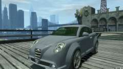 Alfa Romeo Mito de prata para GTA 4