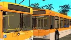 New Flyer D40LF para GTA San Andreas