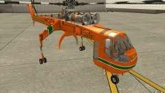 Sikorsky Air-Crane S-64E para GTA San Andreas