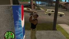 Máquinas de venda automática de Pepsi e planta
