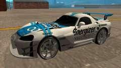 Dodge Viper Energizer para GTA San Andreas