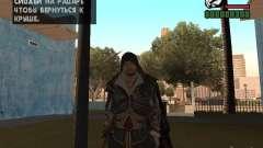 Ezio auditore em armadura de Altair