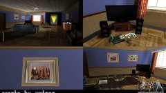 O novo salão na casa de CJ