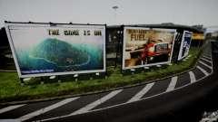 Realistic Airport Billboard