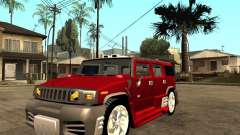 Hummer H2 NFS Unerground 2 para GTA San Andreas