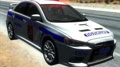 Mitsubishi Lancer Evolution X PPP polícia