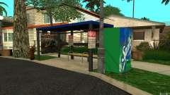 Novo ponto de ônibus