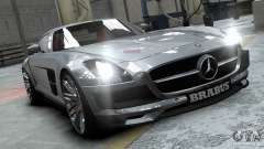 Mercedes-Benz SLS 2011 Brabus AMG Widestar para GTA 4