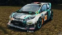Ford Fiesta RS WRC Gymkhana v1.0 para GTA 4