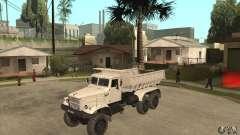 Caminhão de descarga KRAZ 225