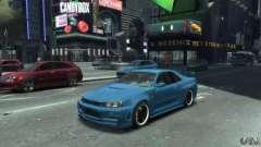 Nissan Skyline GT-R34 Nismo para GTA 4