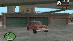 Mini Cooper S Borgonha para GTA San Andreas
