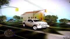 Dodge Ram branco para GTA San Andreas