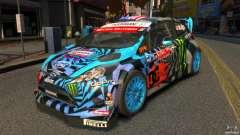 Ford Fiesta Rallycross Ken Block (Hoonigan) 2013 para GTA 4