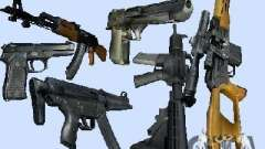 Max Payne 2 Weapons Pack v1 para GTA Vice City