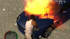 Auto extinção de um extintor de incêndio para GTA San Andreas