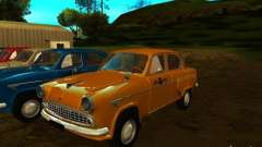 Táxi Moskvich 403 para GTA San Andreas