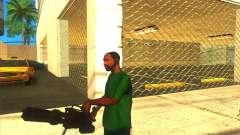 M134 minigun para GTA San Andreas