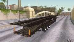 O caminhão de reboque