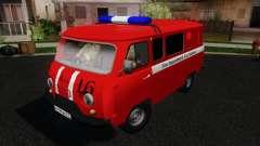 UAZ 3909 fogo