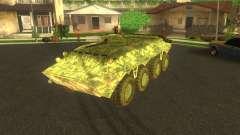 Camuflagem eletrônica BTR-80