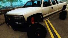Chevrolet Silverado 2500HD 2001 para GTA San Andreas