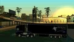 Reboque para a Scania R620 Pimped