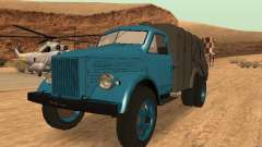 Caminhão de lixo de GAZ-51 para GTA San Andreas