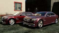 Telas de menu e arranque BMW HAMANN no GTA 4